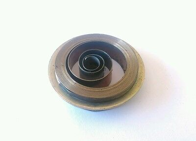 French & German Hole End Clock Mainspring Height 10mm Diameter 36mm Force 0.35
