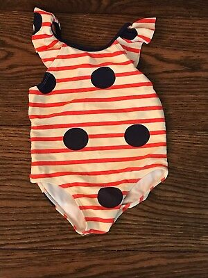 COUNTRY ROAD BABY GIRLS SWIMMING COSTUME SWIMSUIT - SIZE 0 or 6 MONTHS