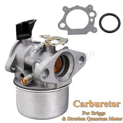 Metal Carb Carburetor with Rubber Ring For Briggs & Stratton Quantum Motor New