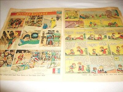 1939 The Comic Weekly,  Sunday Section, NY Journal American
