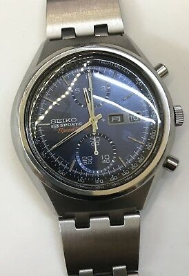 The Holy Grail Of Seiko's 6138/8010 Vintage Cronograph 1973 Jan Very Rare