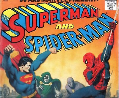 Marvel Treasury Edition No.28 (Superman and Spider-Man)  (Large Format)