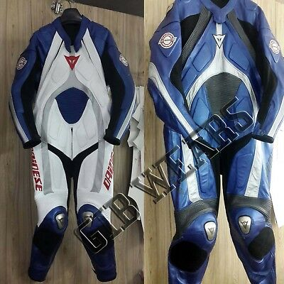 Fast Track and Street Track old Style T age Motorcycle cow Leather Racing Suit