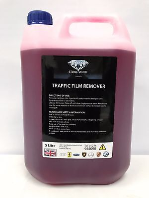 TFR Traffic Film Remover Non Caustic 5 Litre Drum Car Truck Vehicle 5L