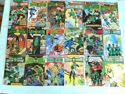 Comic Book Reader Lot  Green Lantern 18 Books (see pictures) 1970's-80's