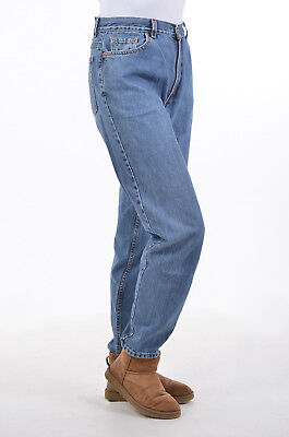 Vintage Levi's 550 Blue High Waisted Jeans 30/30 Made In The Usa
