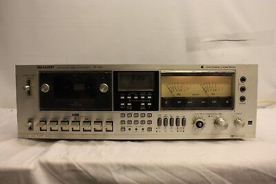 Sharp RT-3151E RT-3151  Electronic Tape Processor   Locate Device Cassette Deck
