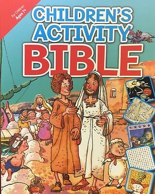 Children's Activity Bible (Ages 7 and up) - Retail $14.99