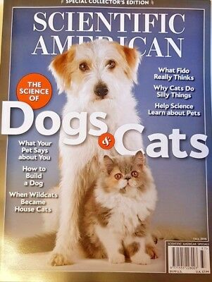 Scientific American Special Collector's Ed Fall 2018 = Science Of Cats And Dogs
