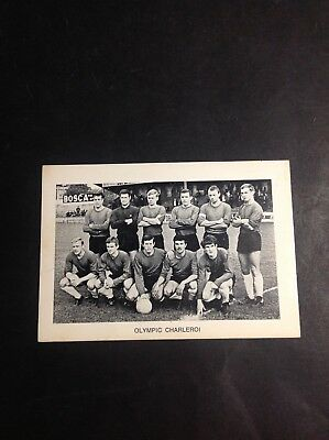 CPA/Photo - Football - Club - Olympic Charleroi - CPA1