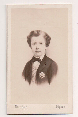Vintage CDV Napoléon, Prince Imperial of France Neurdin Photo