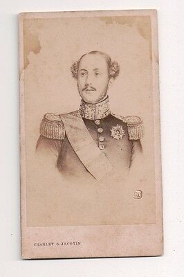 Vintage CDV Prince Ferdinand Philippe, Duke of Orléans Jacotin Photo