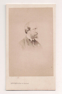 Vintage CDV Prince Christian of Schleswig-Holstein Levitsky  Photo