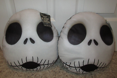 The Nightmare Before Christmas Jack Skellington Face Pillow Set