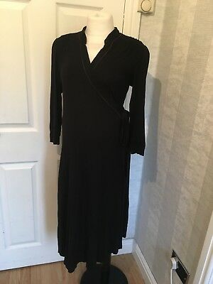 (38) Mamas And Papas Maternity Lightweight Dressing Gown Size 12