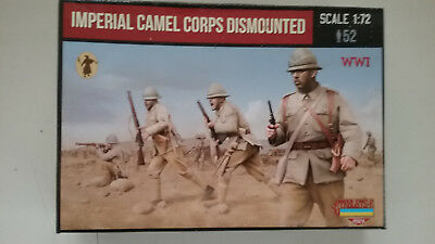 1/72 scale Strelets WWI Imperial  German Camel Corps Dismounted