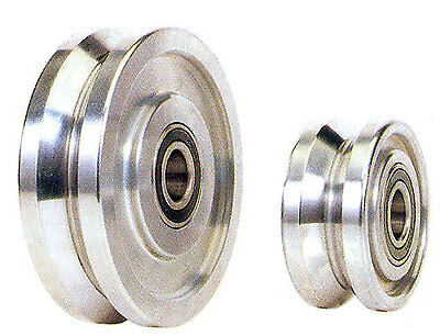 """MVG Mighty V-Grooved 8"""" Wheel 8000 lbs Capacity"""