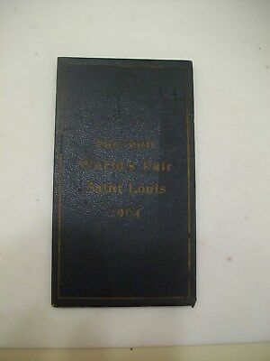 St. Louis 1904 World's Fair Book, Accordion Pictures, N.O. Nelson Mfg Co.