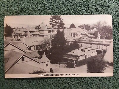*Vintage*The Winchester Mystery House Travel Pamphlet Guide San Jose *