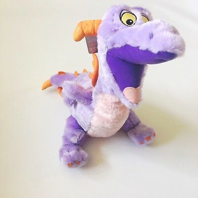 "Disney Parks Figment the Dragon from Imagination! Epcot Center 16"" Plush NWT FS"