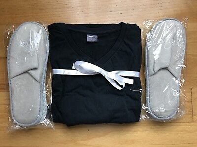 New British Airways First Class Pajamas/ Slippers - Large