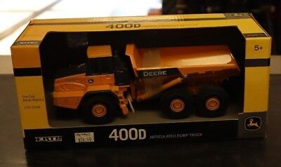 Ertl John Deere 400D Articulated Dump Truck - 1/50 Scale - Construction - NIB