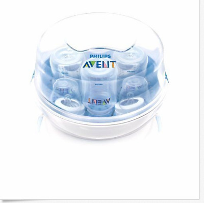 Philips AVENT Microwave Steam Sterilizer, New, Free Shipping