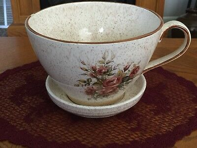 "Large Porcelain ""Tea Cup"" Planter"