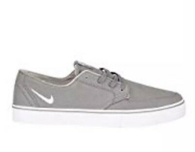 best service ad8a2 b3733 Nike Braata Canvas Skate Shoes Men s size 11 Charcoal 458697-004 FREE  SHIPPING
