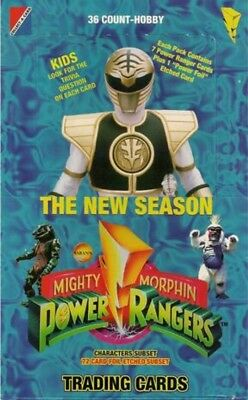 POWER RANGERS: THE NEW SEASON 1995 Collect-A-Card (Hobby) single trading cards