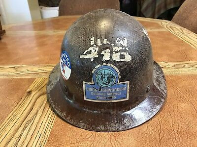 VINTAGE US UNION IRONWORKERS Local 416 - Amazing Well Used Condition