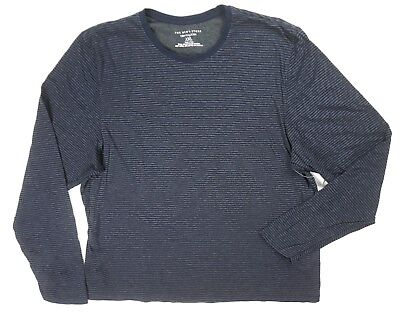 New Bloomingdale's The Mens Store Navy Blue Double Layered L/s Shirt Size 2Xl