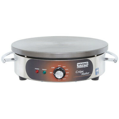 Used Waring WSC160 Crepe Maker Electric