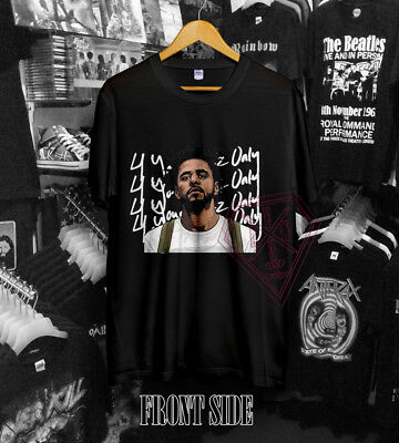 11ca0c09 New Official J Cole Forest Hills 4 Your Eyez Only Hip Hop Rap T-Shirt