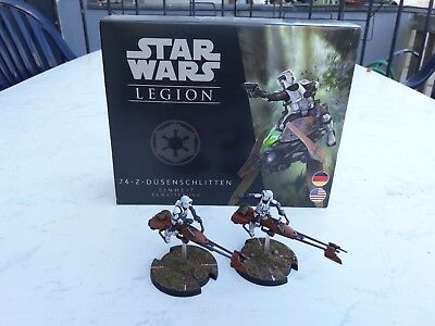 Star Wars Legion: Speeder Bike Erweiterung (DE|ENG) pro painted