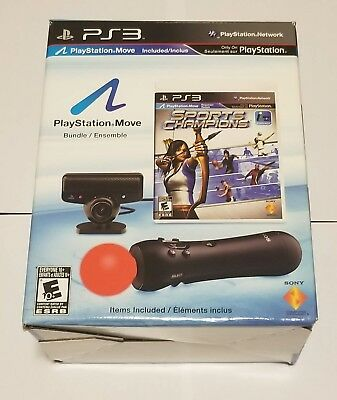 Sony Playstation Move Motion Controller BUNDLE PS3 / PS4 - NEW
