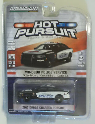 Greenlight Hot Pursuit 2017 Dodge Charger Windsor Ontario Police