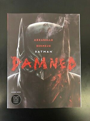 Batman Damned #1 (DC, 2018) First Print UNCENSORED