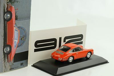Porsche 911 912 Coupe 1965 orange 1:43 Spark Dealer NEU