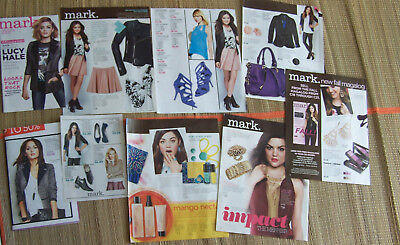 Lucy Hale Magazine Clippings  from Avon Brochures Collection