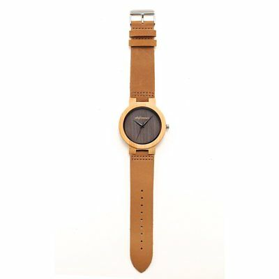 Environmentally Friendly Natural Carbonized Bamboo Watch H1