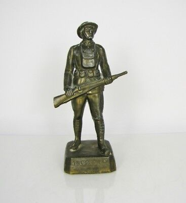 George Dilboy (WWI American Greek Hero) Metal Statue