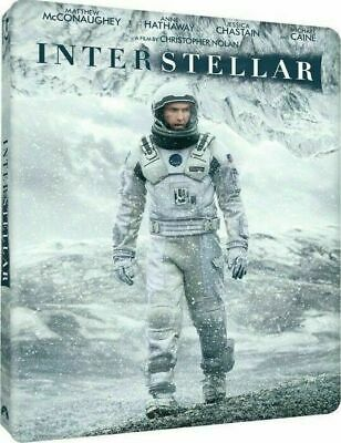 Interstellar - Limited Edition Steelbook [Blu-ray + DVD] New and Factory Sealed!
