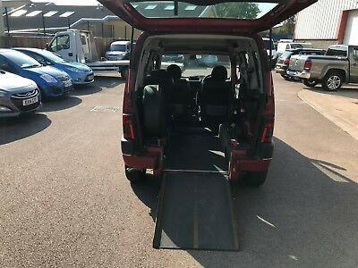 Peugeot Partner WHEELCHAIR ACCESSIBLE mobility disabled ramp access wav
