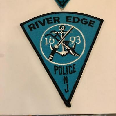 River Edge NJ New Jersey Bergen County Police Patch