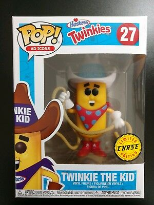 Funko Pop Twinkie The Kid #27 Chase Exclusive