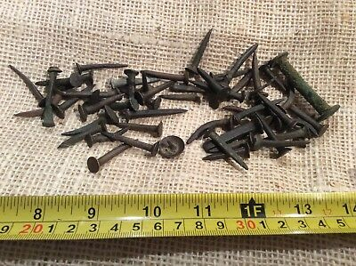 Brass nails Shipwreck nails spike pinsNavy 18th 18th century