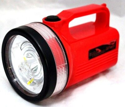 Arlec Rechargeable Led Torch At0041 200 Lumen 3 Modes 100m Max