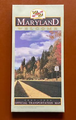 Maryland Official State Road Map 2005-2006