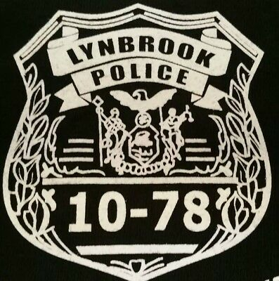 Lynbrook Police Department Nassau County Long Island NY T-Shirt Sz XL NEW NYPD